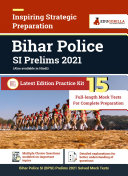 Bihar Police SI  BPSI  Prelims 2020   15 Full length Mock Test