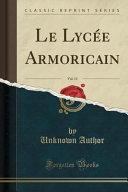 Le Lycée Armoricain, Vol. 11 (Classic Reprint)