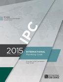2015 International Plumbing Code  Includes Ipsdc