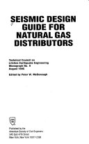 Seismic Design Guide for Natural Gas Distributors