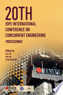 20th Ispe International Conference On Concurrent Engineering Book PDF