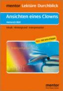 Heinrich Böll, Ansichten eines Clowns