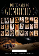 Pdf Dictionary of Genocide [2 volumes] Telecharger