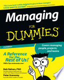 """Managing For Dummies"" by Bob Nelson, Peter Economy, Ken Blanchard"