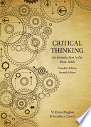 Critical Thinking  An Introduction to the Basic Skills   Canadian Seventh Edition
