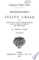 Shakespeare s Julius Caesar Book