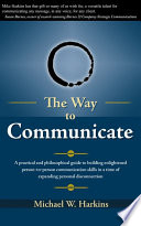 The Way to Communicate Book