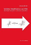 Selektive Modifikation von DNA durch kupferkatalysierte 1,3-Dipolare Cycloaddition