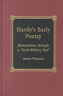 Hardy's Early Poetry