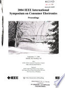 2004 IEEE International Symposium on Consumer Electronics