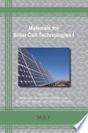 Materials for Solar Cell Technologies I