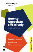 How to Negotiate Effectively