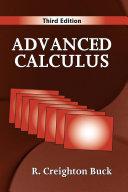 Advanced Calculus