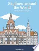 Skylines around the World Coloring Book for Kids 3 & 4
