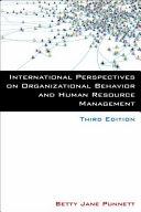 International Perspectives on Organizational Behavior and Human Resource Management Pdf/ePub eBook