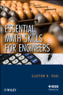 Essential Math Skills for Engineers Pdf/ePub eBook
