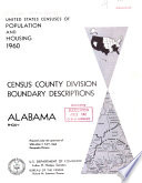 United States Censuses of Population and Housing: 1960. Census County Division Boundary Descriptions