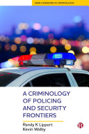 A Criminology of Policing and Security Frontiers Pdf/ePub eBook