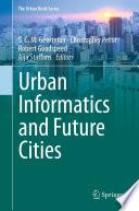 Urban Informatics and Future Cities Book