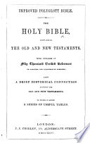 Improved Polygott Bible  The Holy Bible  etc   With plates   Book