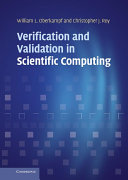 Verification and Validation in Scientific Computing
