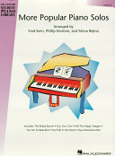 More Popular Piano Solos   Level 2  Songbook