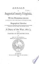 Annals Of Augusta County