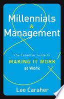 Millennials   Management Book PDF