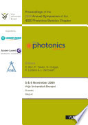 Proceedings Of The 2009 Annual Symposium Of The Ieee Photonics Benelux Chapter Book PDF