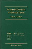 European Yearbook of Minority Issues
