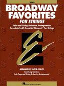 Essential Elements Broadway Favorites for Strings   Viola Book PDF