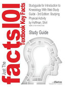 Studyguide for Introduction to Kinesiology with Web Study Guide   3rd Edition