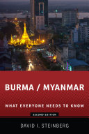 Burma/Myanmar Pdf/ePub eBook