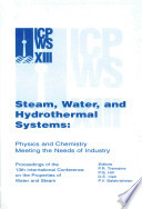Steam  Water  and Hydrothermal Systems Book