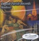 English Parish Records Book