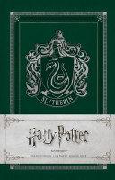 Harry Potter  Slytherin Ruled Notebook