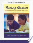 Teaching Students Who Are Exceptional, Diverse, and at Risk in the General Education Classroom with Access Code