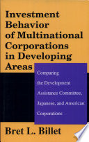 Investment Behavior of Multinational Corporations in Developing Areas