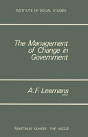 The Management Of Change In Government