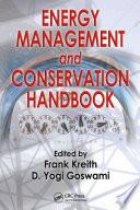 Energy Management and Conservation Handbook Book