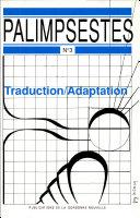 Traduction/adaptation. 2 volumes ebook