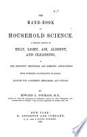 THE HAND BOOK OF HOUSEHOLD SCIENCE