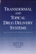 Transdermal and Topical Drug Delivery Systems Book