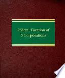 Federal Taxation of S Corporations Pdf/ePub eBook