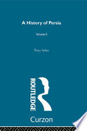 A History Of Persia Book