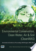 Environmental Conservation  Clean Water  Air   Soil  CleanWAS  Book