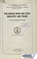 The French iron and steel industry and trade
