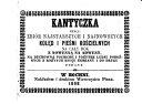 Pdf Kantyczka, czyli zbiór najstarszych i najnowszych kolęd i pieśni kościelnych na cały rok