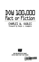 Dow 100,000 Fact Or Fiction