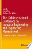 The 19th International Conference on Industrial Engineering and Engineering Management Book